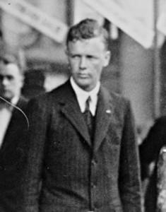 Das Bild zeigt Charles Lindbergh