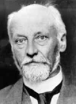 Das Bild zeigt den Friedensnobelpreisträger Ludwig Quidde