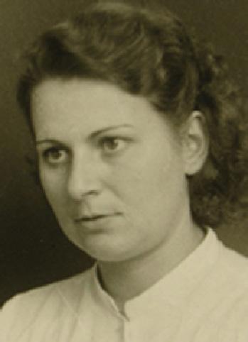 Das Bild zeigt Luise Otten (Rohrs)