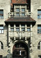 Das Bild zeigt das Polizeihaus am Wall