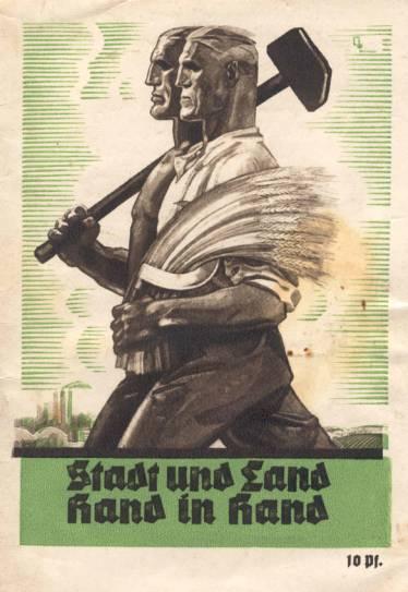 Bild zeigt ein Propagdaplakat für die Ausstellung