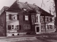 Das Bild zeigt das ehemalige Radio Bremen Gebäude in der Schwachhauser Heerstraße 363
