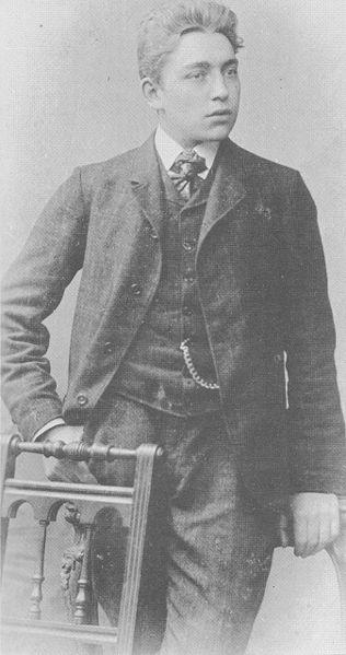 Das Bild zeigt den Senator Kaisen