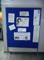 Das Bild zeigt gesammelte Texte über Rosemarie Anspacher