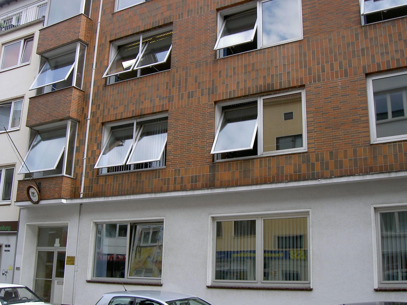 Das Bild zeigt die Bornstraße Nummer 16 heute