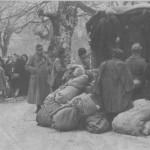 Das Bild zeigt die Deportation von Juden in Joannina