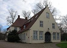 Das Bild zeigt die ehemalige SS-Abschnittszentrale welche heute das Focke Museum ist (Haus Riensberg)