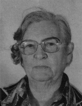 Das Bild zeigt Maria Krüger