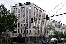 Das Bild zeigt das Verlagshaus der Bremer Tageszeitung