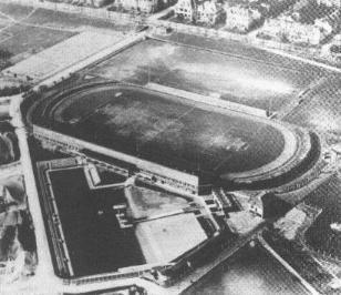 Das Bild zeigt das Bremer Weserstadion
