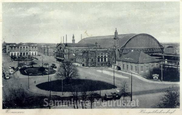 Das Bild zeigt den Bahnhof im Jahre 1930