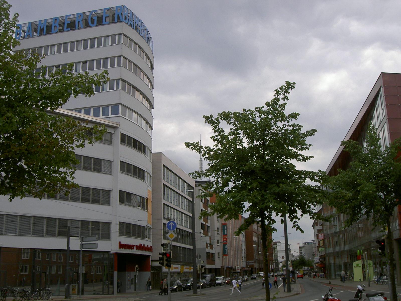 Das Bild zeigt das Bamberger Haus heute