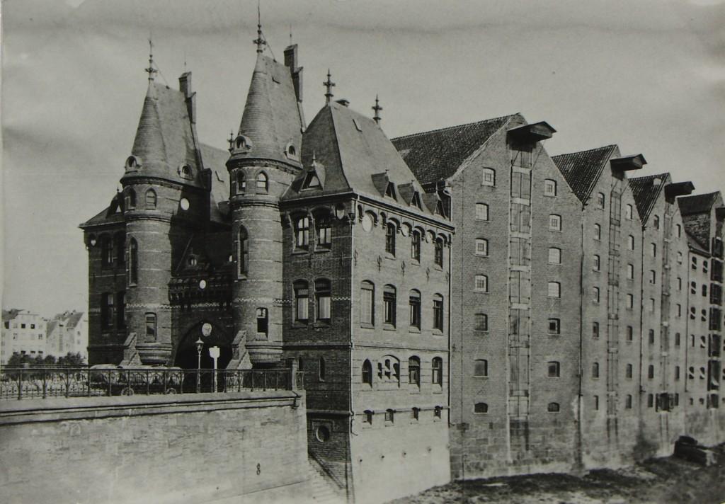 Das Bild zeigt die Weserburg wie sie damals im Jahre 1900 aussah