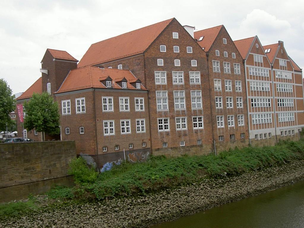 Das Bild zeigt die Weserburg heute