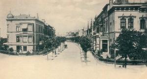 Parkstrasse-von-der-Schwachhauser-Heerstrasse-damals