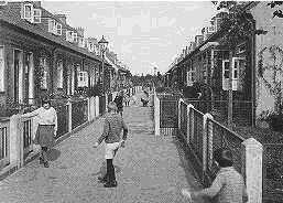 Dieses Bild zeigt einen Gartengang von Klein Mexico von 1935