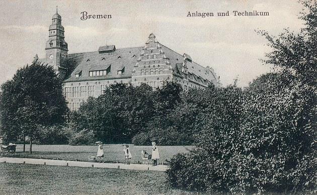 Das Bild zeigt das damalige Technikum