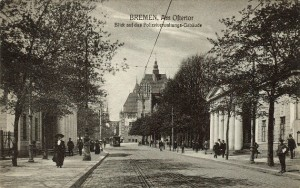 Postkarte-Ostertorwache
