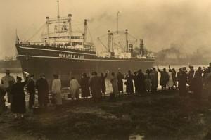 Dieses Bild zeigt das Mutterschiff, die Walter Rau