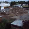Bild zeigt einen Berg voller Abrißgeröll des ehemaligen Arbeitslagers