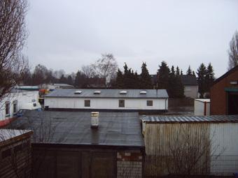 Dieses Bild zeigt einen kleinen Teil des Arbeitslagers der heute noch steht