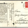 Dieses Bild zeigt einen Brief von Willi Müller an seine Mutter