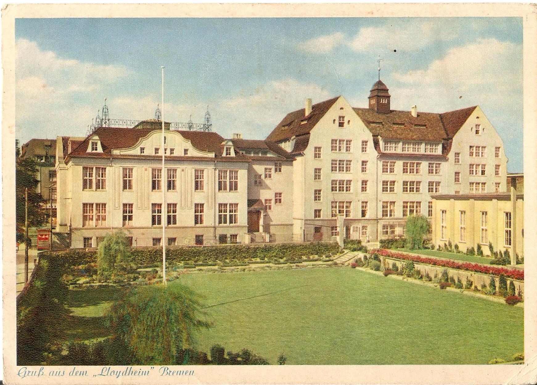 Dieses Bild zeigt eine Postkarte mit
