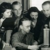 Dieses Bild zeigt Hans Günther Oestereich bei seiner Arbeit beim Soldatensender Belgrad