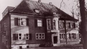 Dieses Bild zeigt die beschlagnahmte Villa in der Schwachhauser Heerstraße 363
