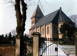 Das Bild zeigt die Kirche in Arbergen