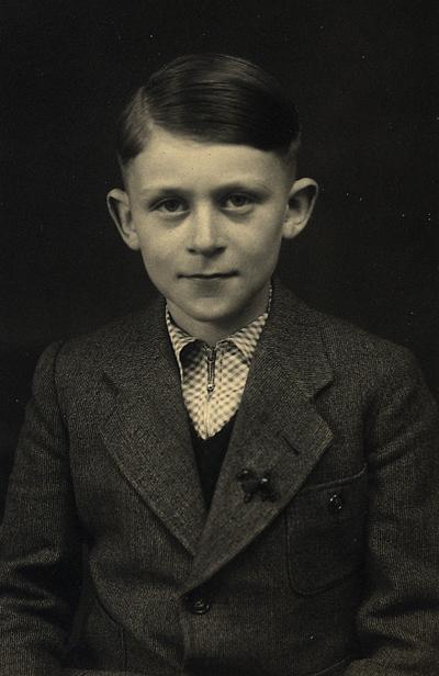 Bild zeigt Otto Polak, 1945