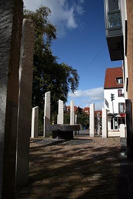 Bild von der Gedenkstätte in Osterholz-Scharmbeck
