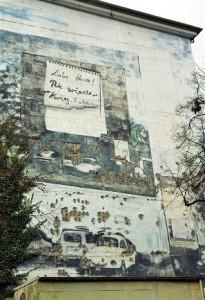Bild vom Bunker Halmerweg - Vor der Restaurierung