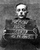 Hans Biebow in Gefangenschaft